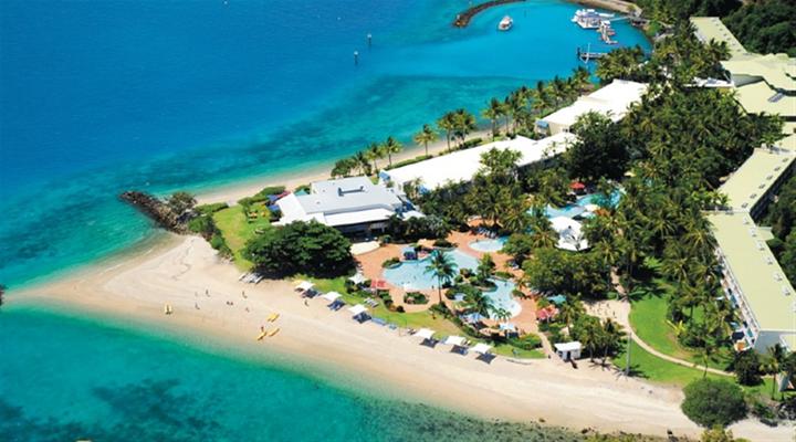 白日梦岛珊瑚礁旅游图片