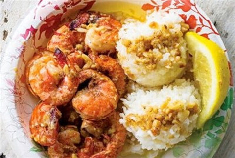 北海岸虾饭