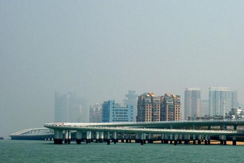 演武大桥的图片