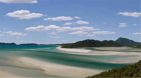 白天堂沙滩