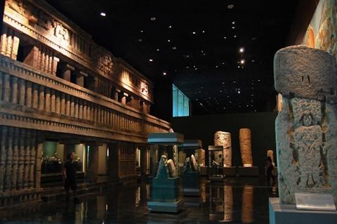 墨西哥城国家人类学博物馆