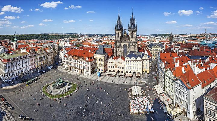 布拉格城堡旅游图片
