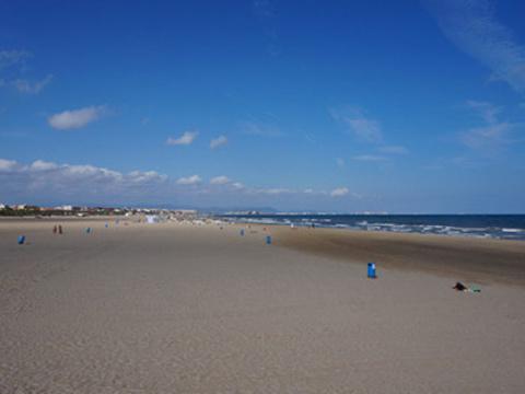 La Malvarrosa海滩旅游景点图片