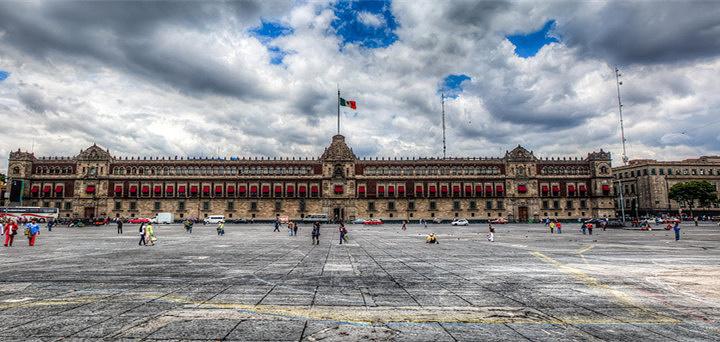 墨西哥城宪法广场旅游图片