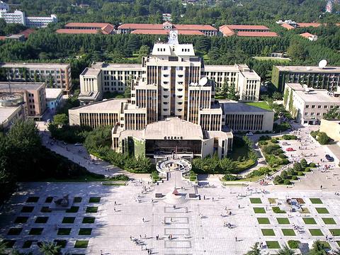 西安交通大学旅游景点图片