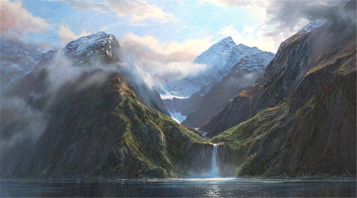 斯特林瀑布旅游图片