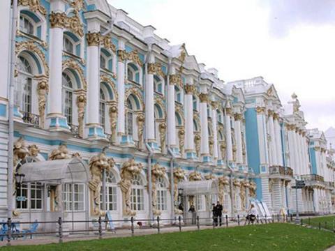 叶卡捷琳娜花园旅游景点图片