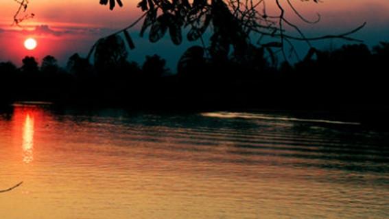 四千美岛的日出