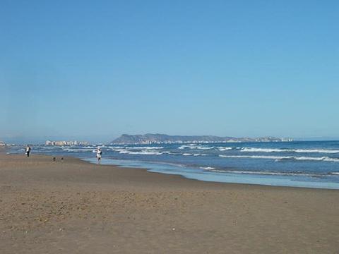 甘迪亚海滩旅游景点图片