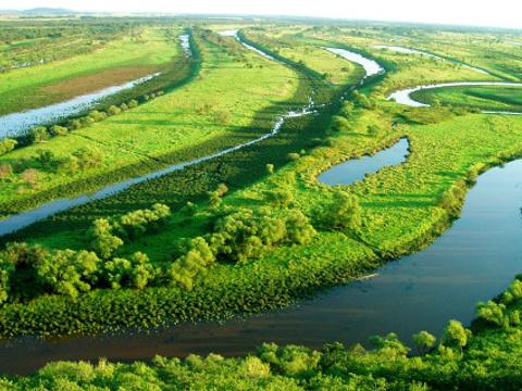 拉鲁湿地自然保护区旅游景点图片