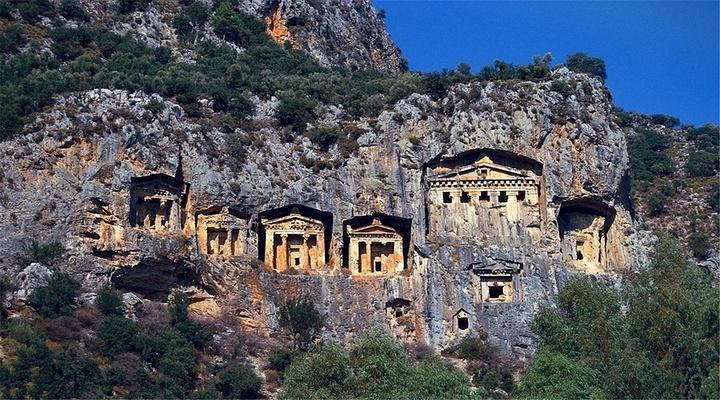 利西亚石棺旅游图片