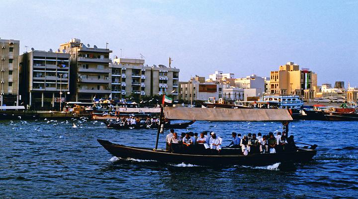 迪拜河旅游图片