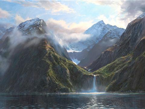斯特林瀑布旅游景点图片
