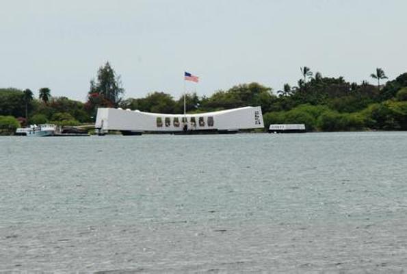 珍珠港亚利桑那号纪念馆旅游图片