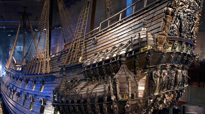 瓦萨沉船博物馆旅游图片