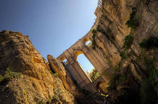 峡谷之上的新桥旅游图片