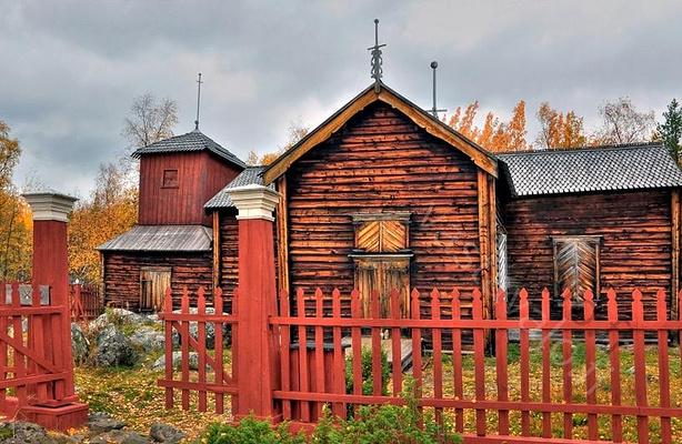 原野教堂旅游图片