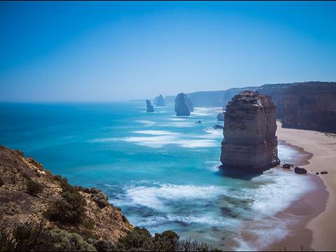 石灰岩海岸旅游图片