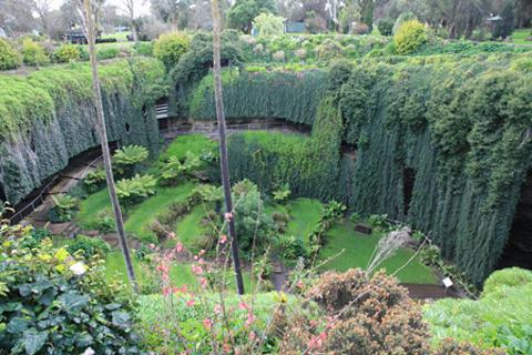 甘比尔山洞穴花园