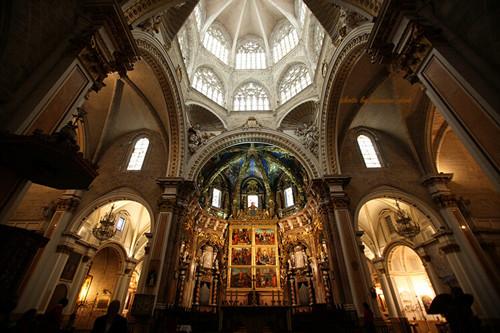 瓦伦西亚主教堂和塔楼