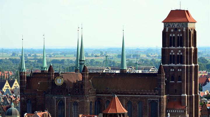 格但斯克圣玛利亚教堂 旅游图片
