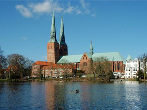 吕贝克大教堂旅游景点图片