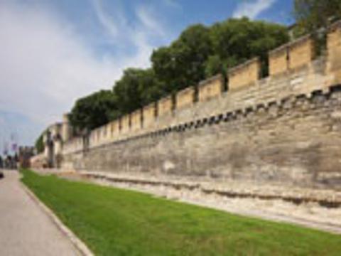 阿维尼翁城墙旅游景点图片