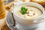 蘑菇汤(Mushroom Soup)