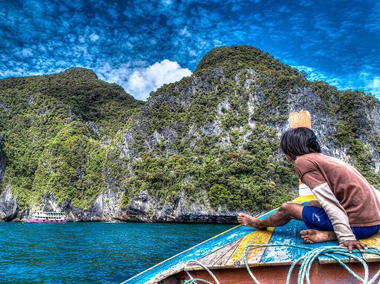 翡翠洞旅游图片