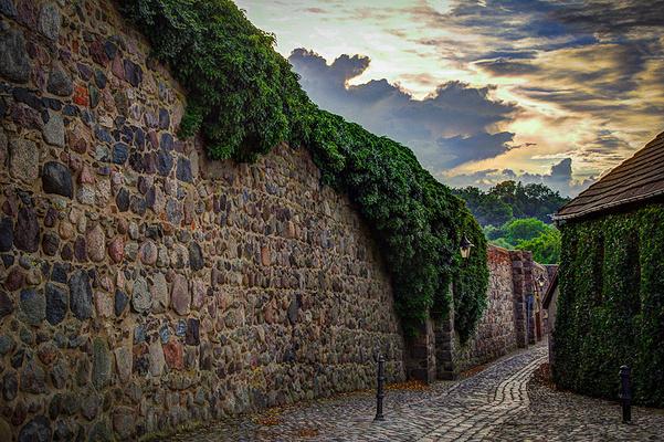 罗腾堡城墙旅游图片