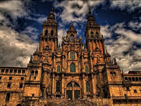 圣地亚哥康波司戴拉教堂旅游景点图片