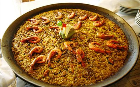 海鲜饭(Paella)