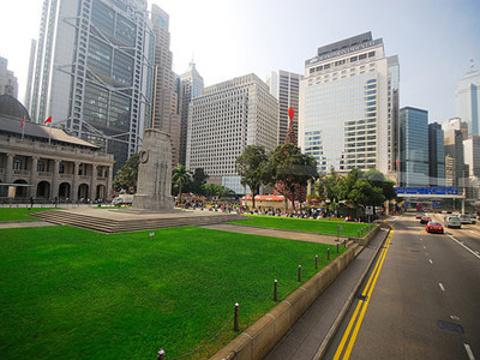 皇后像广场旅游景点图片