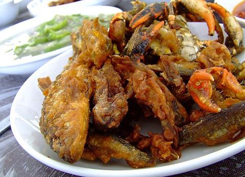 油炸鱼(fried fish)