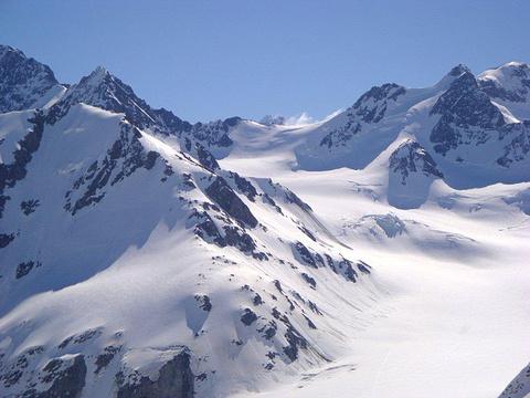 默奇森冰川旅游景点图片