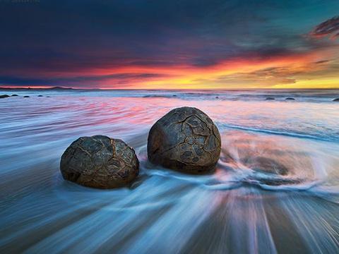 摩拉基大圆石旅游景点图片
