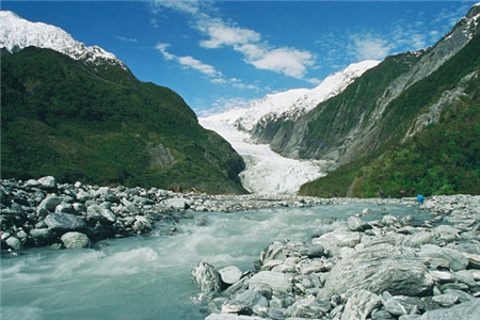 弗朗茨约瑟夫冰川旅游图片