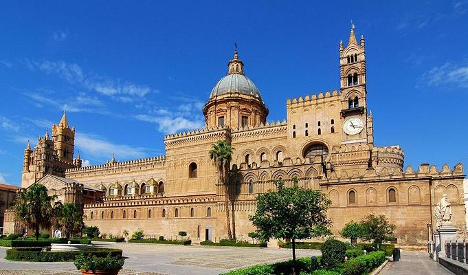 巴勒莫大教堂及地下宝藏旅游图片