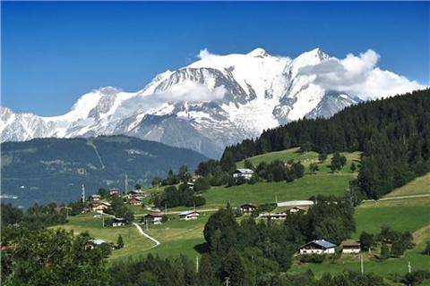 法国阿尔卑斯山旅游图片