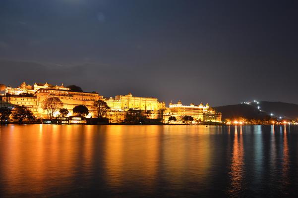 乌代布尔城市宫殿旅游图片