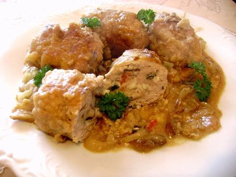 波兰焖牛肉(zrazyzawijane)