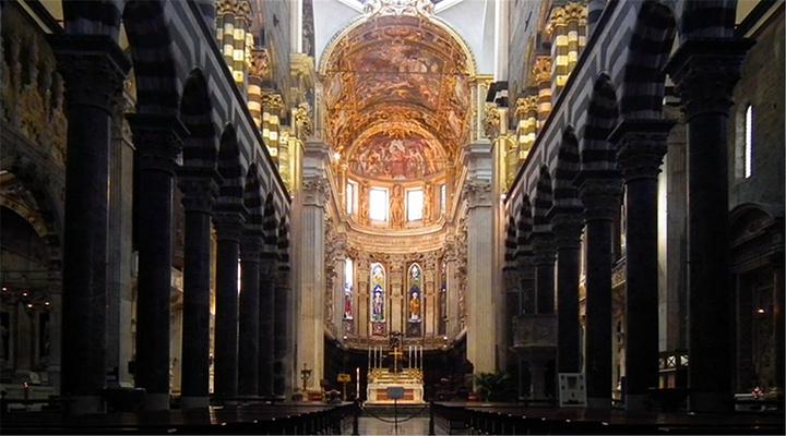 热那亚圣洛伦佐大教堂旅游图片