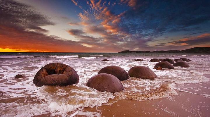 摩拉基大圆石旅游图片