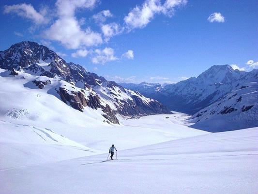 塔斯曼冰川旅游图片