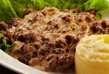 红烩牛肉бефстроганов