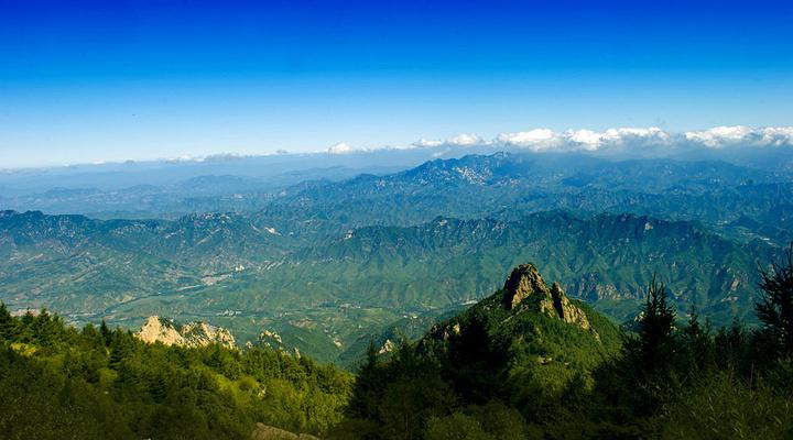 雾灵山旅游图片