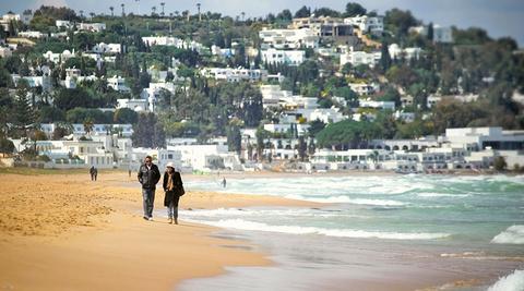 La Marsa海滩