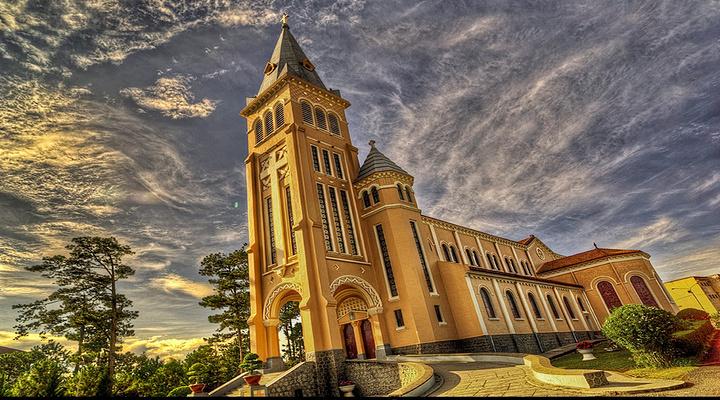 大叻天主修道院旅游图片
