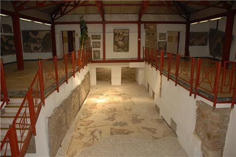 格雷特宫镶嵌画博物馆的图片