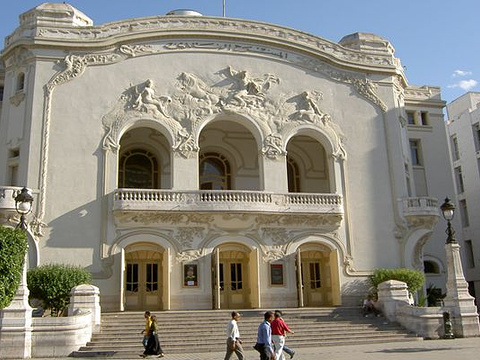 国家大剧院旅游景点图片